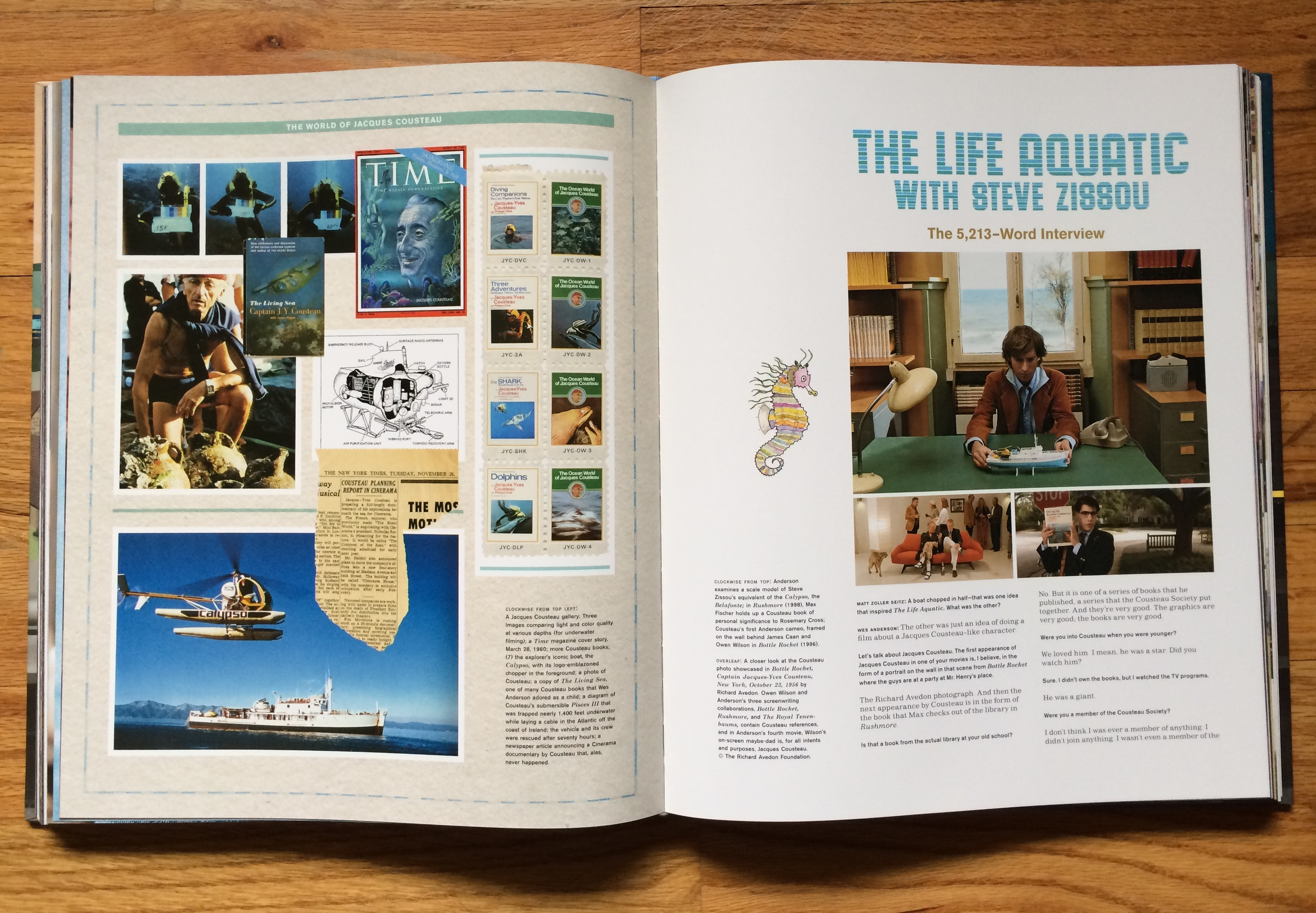 Wes Anderson Coffee Table Book.Book Review The Wes Anderson Collection Movie Hodgepodge